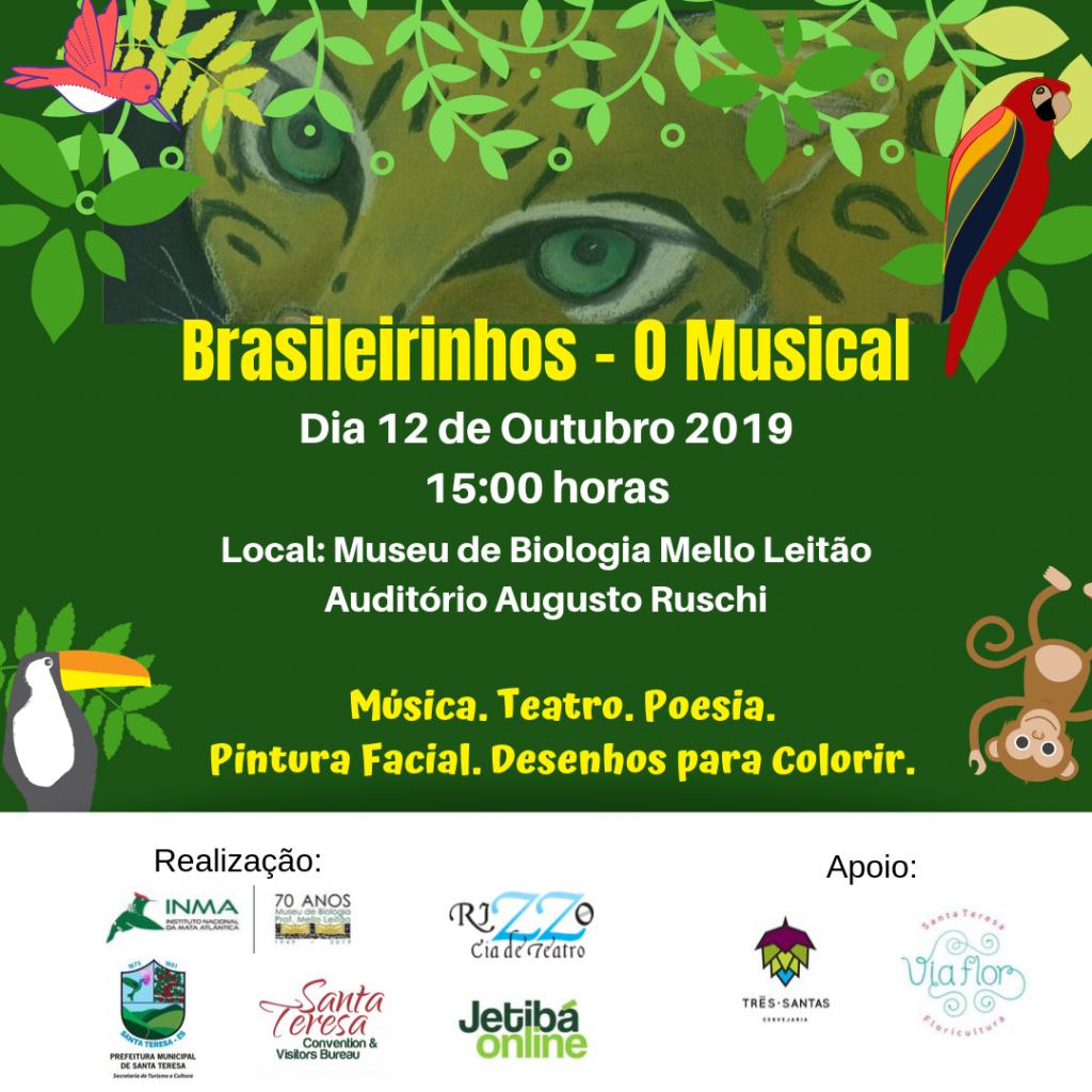 Dia das Crianças será comemorado com música e teatro no INMA/Museu